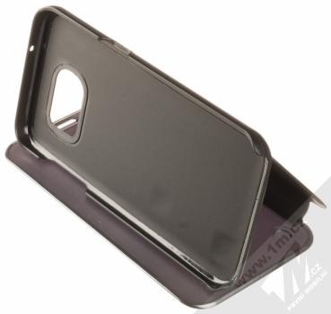 Vennus Clear View flipové pouzdro pro Samsung Galaxy S7 Edge černá (black) stojánek
