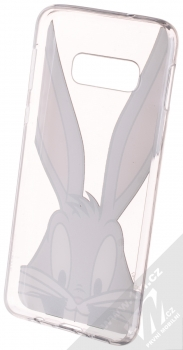Warner Bros Looney Tunes Bugs Bunny 001 TPU ochranný silikonový kryt s motivem pro Samsung Galaxy S10e průhledná (transparent) zepředu