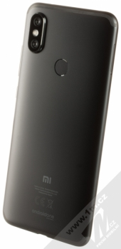 XIAOMI MI A2 4GB/32GB Global Version CZ LTE černá (black) šikmo zezadu
