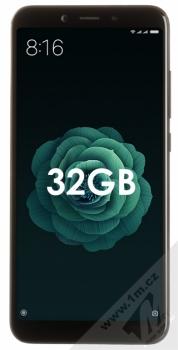 XIAOMI MI A2 4GB/32GB Global Version CZ LTE černá (black) zepředu