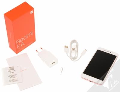 XIAOMI REDMI 5A 2GB/16GB Global Version CZ LTE růžově zlatá (rose gold) balení