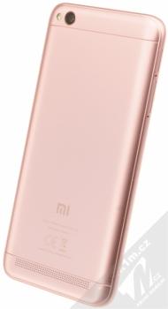 XIAOMI REDMI 5A 2GB/16GB Global Version CZ LTE růžově zlatá (rose gold) šikmo zezadu
