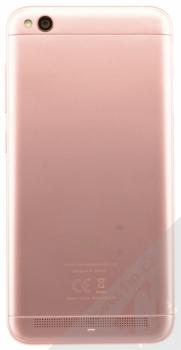 XIAOMI REDMI 5A 2GB/16GB Global Version CZ LTE růžově zlatá (rose gold) zezadu