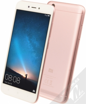 XIAOMI REDMI 5A 2GB/16GB Global Version CZ LTE růžově zlatá (rose gold)