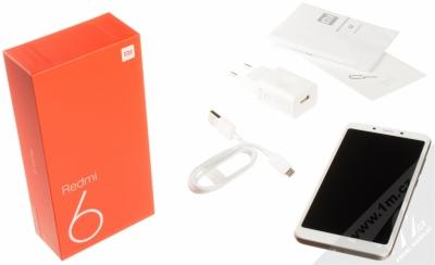 XIAOMI REDMI 6 3GB/32GB Global Version CZ LTE zlatá (gold) balení