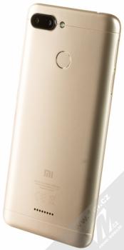 XIAOMI REDMI 6 3GB/32GB Global Version CZ LTE zlatá (gold) šikmo zezadu