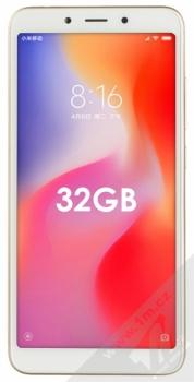 XIAOMI REDMI 6 3GB/32GB Global Version CZ LTE zlatá (gold) zepředu