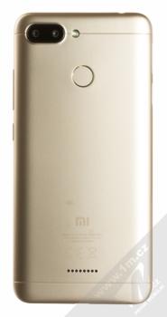 XIAOMI REDMI 6 3GB/32GB Global Version CZ LTE zlatá (gold) zezadu