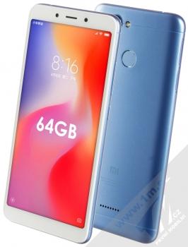 Xiaomi Redmi 6 4GB/64GB Global Version CZ LTE + MINI SELFIE TYČKA SETTY MINI SELFIE STICK V CENĚ 349KČ ZDARMA modrá (blue)