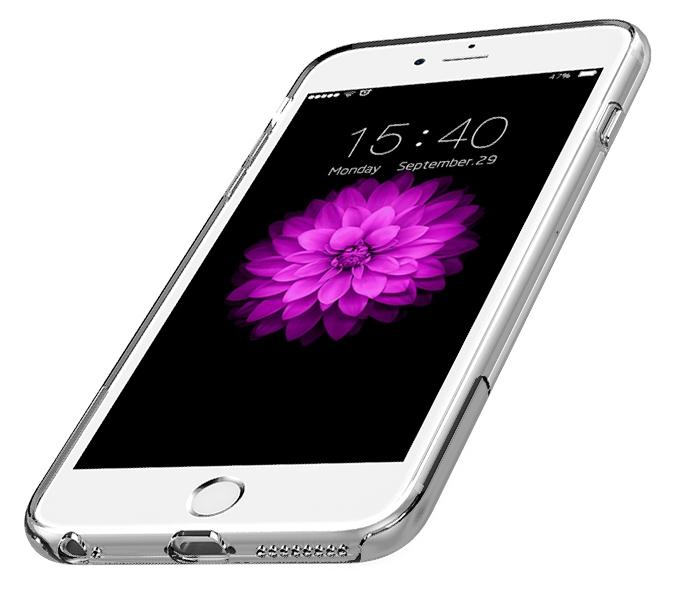 USAMS Ease TPU gelový a kovový kryt pro Apple iPhone 6 24a22f6a191