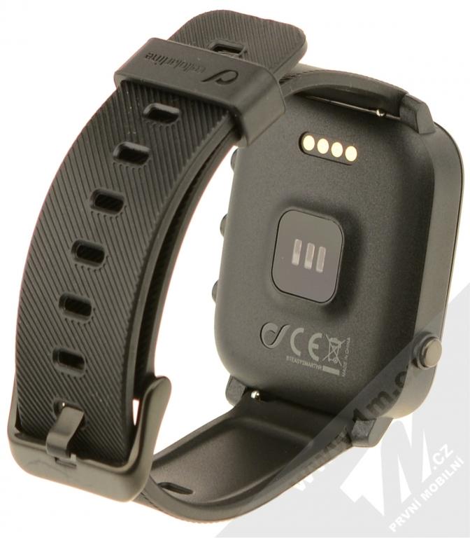 CellularLine easysmart HR chytré fitness hodinky černá (black) zezadu ed2d7514b2
