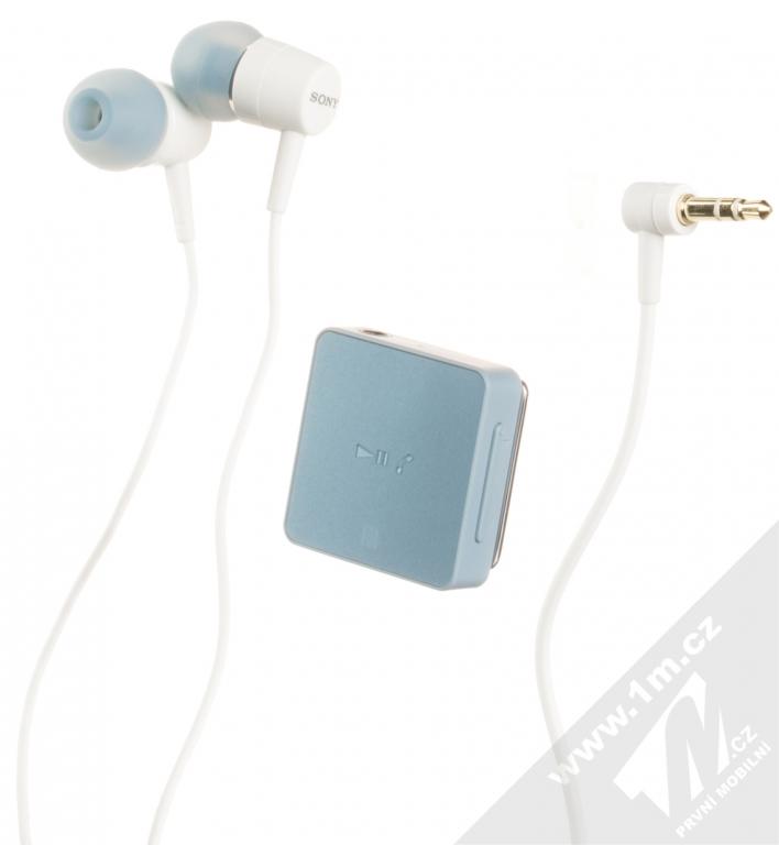 Sony Sbh24 Stereo Bluetooth Headset Modra Blue 1m Cz