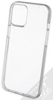 1Mcz 360 Full Cover sada ochranných krytů pro Apple iPhone 12 Pro Max průhledná (transparent) komplet zezadu