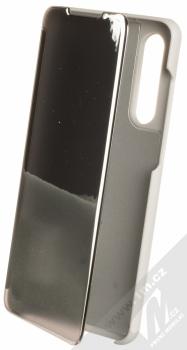 1Mcz Clear View flipové pouzdro pro Huawei P30 stříbrná (silver)