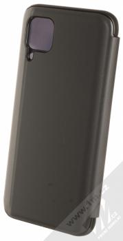 1Mcz Clear View flipové pouzdro pro Huawei P40 Lite černá (black) zezadu