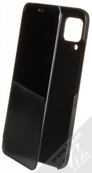 1Mcz Clear View flipové pouzdro pro Huawei P40 Lite černá (black)