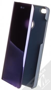 1Mcz Clear View flipové pouzdro pro Huawei P9 Lite (2017) modrá (blue)
