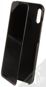 1Mcz Clear View flipové pouzdro pro Huawei Y6 (2019) černá (black)