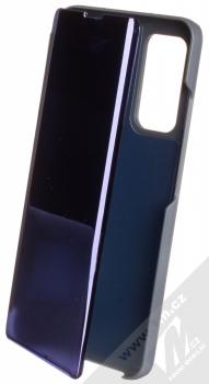 1Mcz Clear View flipové pouzdro pro Xiaomi Mi 10T 5G, Mi 10T Pro 5G modrá (blue)