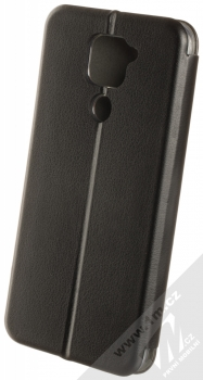 1Mcz Elegance Book flipové pouzdro pro Xiaomi Redmi Note 9 černá (black) zezadu