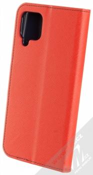 1Mcz Fancy Book flipové pouzdro pro Samsung Galaxy A12 červená modrá (red blue) zezadu