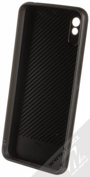 1Mcz Glass Cover ochranný kryt pro Xiaomi Redmi 9A černá (black) zepředu