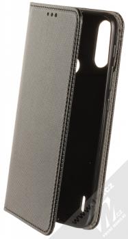 1Mcz Magnet Book Color flipové pouzdro pro Motorola Moto E7 Power černá (black)