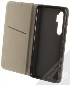 1Mcz Magnet Book Color flipové pouzdro pro Xiaomi Mi Note 10 Lite černá (black) otevřené