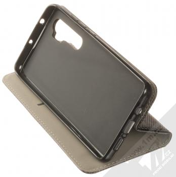 1Mcz Magnet Book Color flipové pouzdro pro Xiaomi Mi Note 10 Lite černá (black) stojánek
