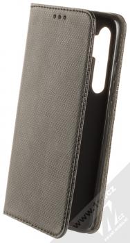 1Mcz Magnet Book Color flipové pouzdro pro Xiaomi Mi Note 10 Lite černá (black)