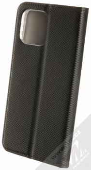1Mcz Magnet Book flipové pouzdro pro Apple iPhone 12 Pro Max černá (black) zezadu