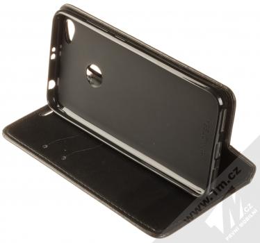 1Mcz Magnetic Book Color flipové pouzdro pro Xiaomi Redmi Note 5A černá (black) stojánek