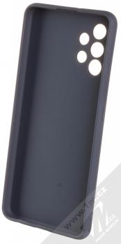 1Mcz Matt Skinny TPU ochranný silikonový kryt pro Samsung Galaxy A32 tmavě modrá (dark blue) zepředu