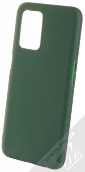 1Mcz Matt TPU ochranný silikonový kryt pro Realme 8 5G tmavě zelená (forest green)