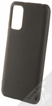 1Mcz Matt TPU ochranný silikonový kryt pro Xiaomi Redmi Note 10 5G, Poco M3 Pro černá (black)