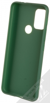 1Mcz Matt TPU ochranný silikonový kryt pro Motorola Moto G10, Moto G10 Power, Moto G30 tmavě zelená (forest green) zepředu