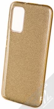 1Mcz Shining TPU třpytivý ochranný kryt pro Xiaomi Redmi 9T, Poco M3 zlatá (gold)