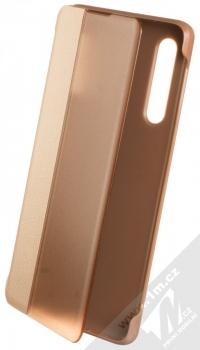 1Mcz Sleep Flip Cover flipové pouzdro pro Huawei P30 růžová (pink)