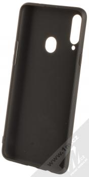 1Mcz Soft TPU ochranný kryt pro Samsung Galaxy A20s černá (black) zepředu