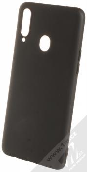 1Mcz Soft TPU ochranný kryt pro Samsung Galaxy A20s černá (black)