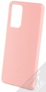 1Mcz Solid TPU ochranný kryt pro Samsung Galaxy A72, Galaxy A72 5G světle růžová (light pink)