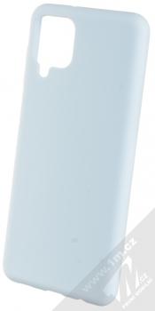 1Mcz Solid TPU ochranný kryt pro Samsung Galaxy A12 světle modrá (light blue)