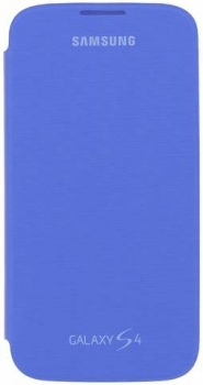 Samsung ENM-EF-FI950BCEGWW Mimetica Blu Samsung Galaxy S4 zepředu