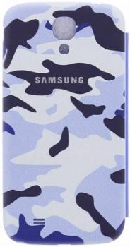 Samsung ENM-EF-FI950BCEGWW Mimetica Blu Samsung Galaxy S4 zezadu
