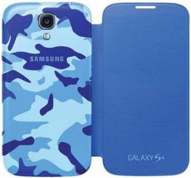 Samsung ENM-EF-FI950BCEGWW Mimetica Blu Samsung Galaxy S4 blue