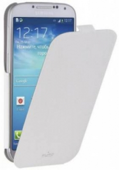 Puro Flipper pouzdro pro Samsung Galaxy S4 bílá (white)