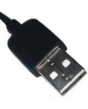 microUSB kabel detail USB konektoru
