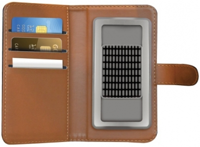 Celly Wally Unica M univerzální flipové pouzdro pro mobilní telefon, mobil, smartphone