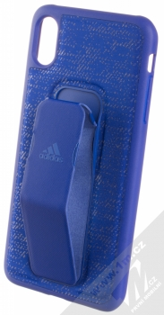 Adidas Grip Case ochranný kryt s úchytem na ruku pro Apple iPhone XS Max (CL2380) světle modrá (collegiate royal)
