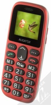 ALIGATOR A510 SENIOR červená (red) šikmo zepředu